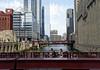 Chicago tour, river view