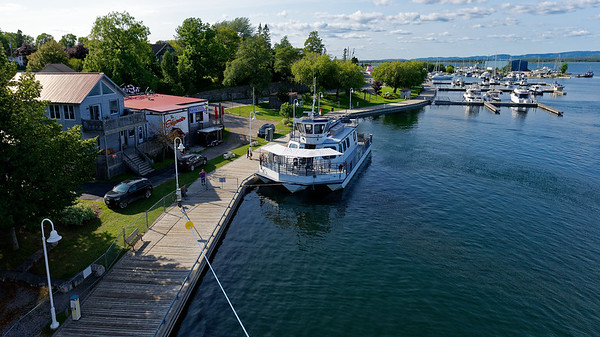 Manitoulin Island and Little Current, harbor view