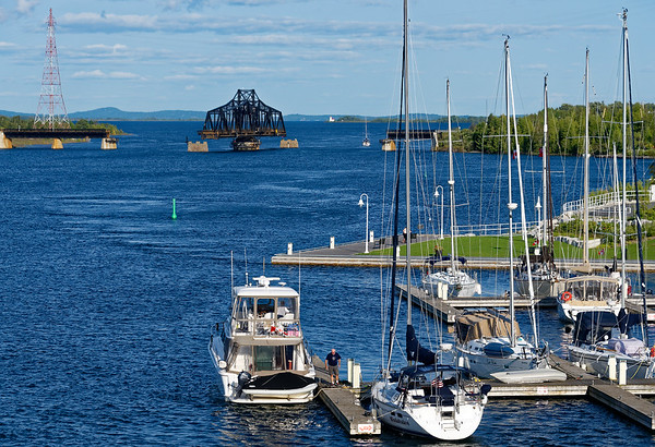 Manitoulin Island and Little Current, headed towards Little Current Swing Bridge
