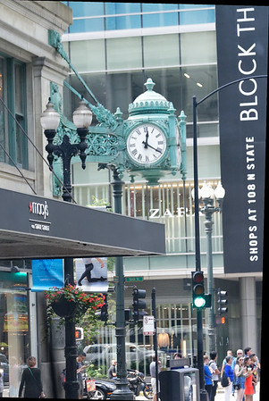 Chicago tour, Macy's (former home of Marshall Fields