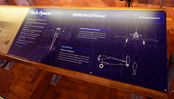 "Detroit, Ford Museum, Ford ""Flivver"""