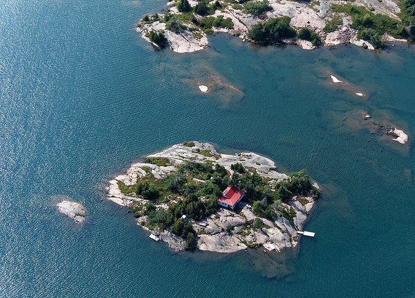 Parry Sound Ontario, one of the many (30,000)) islands
