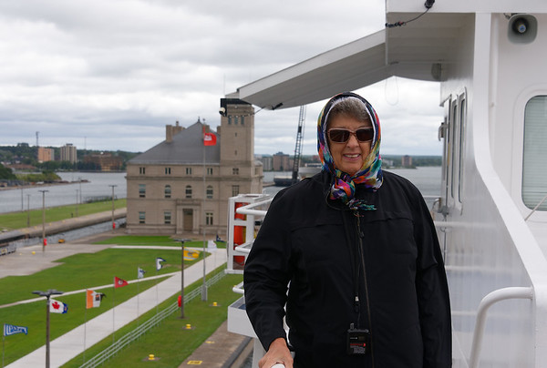 Sault Ste. Marie, Soo Locks, a cooler day on the lake
