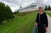 Suzanne and the Grand Hotel, Mackinac Island