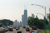 Chicago tour, Willis Tower from N Lake Shore Drive