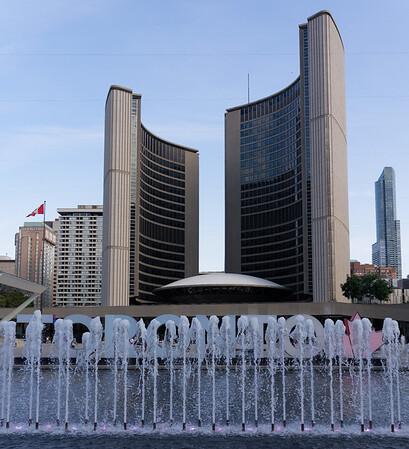 Toronto Ontario, the New City Hall