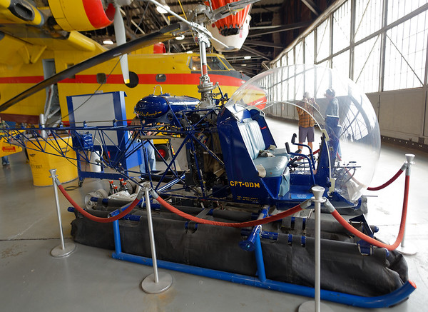 Sault Ste. Marie, Bushplane Museum, small helicopter