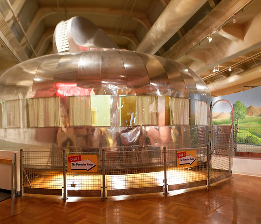 Detroit Ford Museum, self-cleaning Dymaxion house of the future
