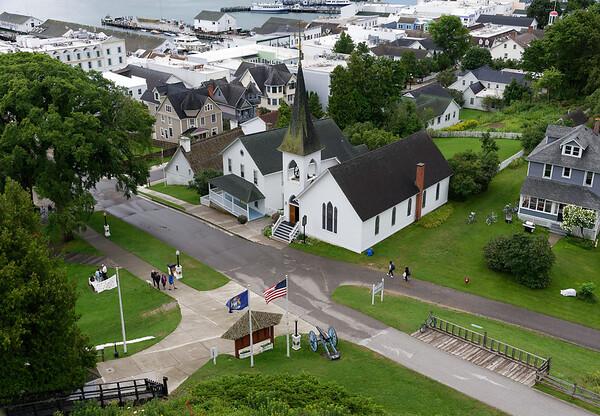 Mackinac Island view
