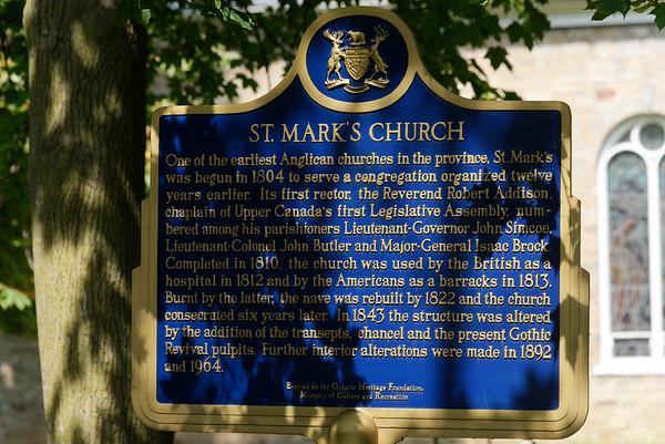 Niagara-on-the-Lake Ontario, St. Mark's Church