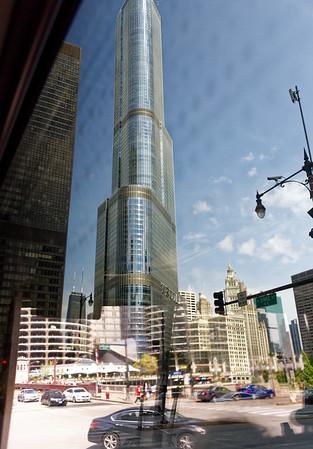 Chicago tour, Trump hotel