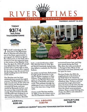 River Times - Natchez MI