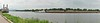 La Crosse  WI riverfront panorama