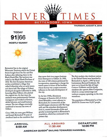 River Times - Bettendorf IA and Quad Cities