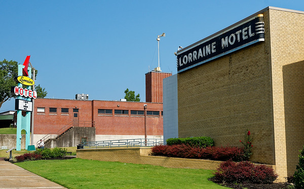 The National Civil Rights Museum - based on the Lorraine Motel