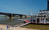 St. Louis MO - Eads Bridge and the American Queen