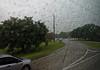 Lafayette LA - Torrents of rain, kudos to the bus driver!