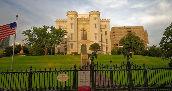 Baton Rouge LA - old state capital