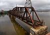Dubuque Rail Bridge - 1899