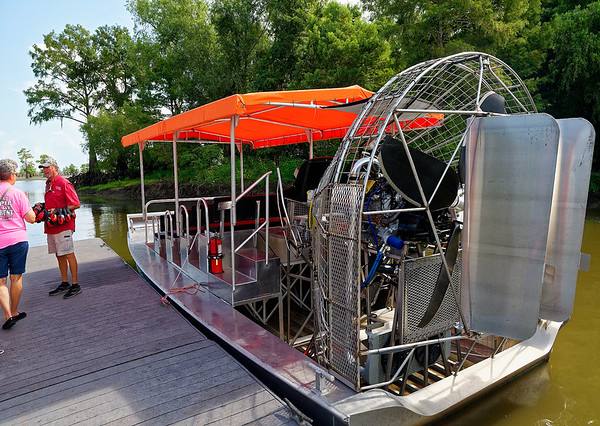 Lake Bigeaux - the airboat
