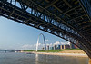 St. Louis MO - Eads Bridge and the Arch
