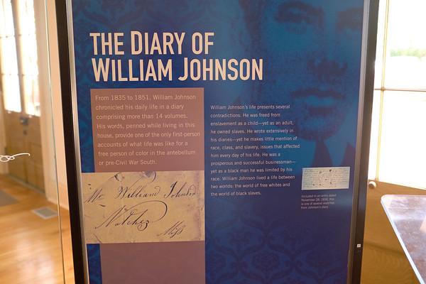 Natchez MS - William Johnson, free black man