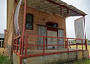 Indianola MS - BB King Museum, front of cotton gin building