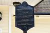 Breaux Bridge LA - Pont Breaux Restaurant plaque