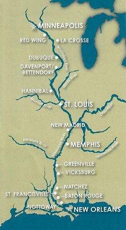 American Queen route