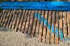 Vicksburg - old brick paving showing through