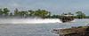 Lake Bigeaux - we're off in a cloud of spray