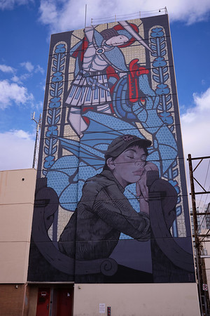 Old Las Vegas - mural