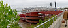 Memphis TN – Beale Street Landing, multi-tiered for the unpredictable Mississippi River