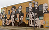 Memphis TN – National Civil Rights Museum at the Lorraine Motel Mural on building across the street