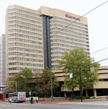 Memphis TN – the Sheraton Hotel