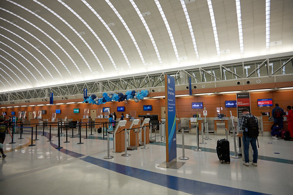 DAY 1:  San Antonio Airport