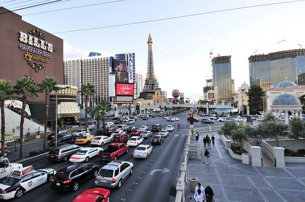 Las Vegas Boulevard, daytime