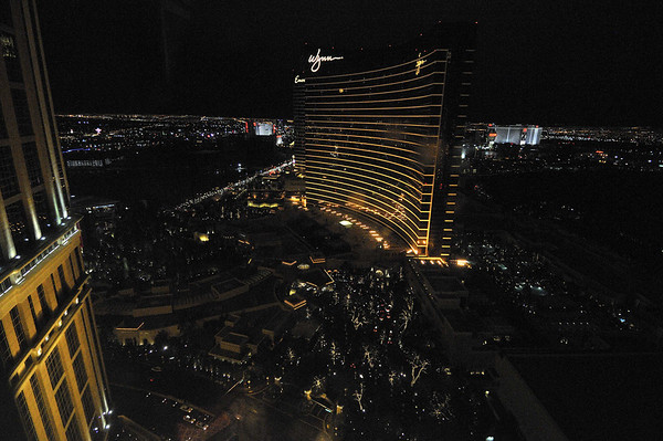 View from the room at the Palazzo