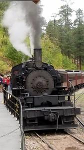 1800 Train Black Hills Railroad Keystone to Hill City, South Dakota