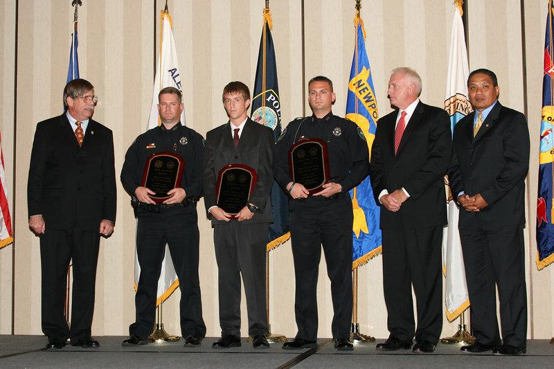 <b>IMG_43365</b><br>2006 Valor Award Recipients: Officer John D. Farrow, Officer Eddward L. Jones, and Officer Bradley N. Nielsen, Newport News Police Department