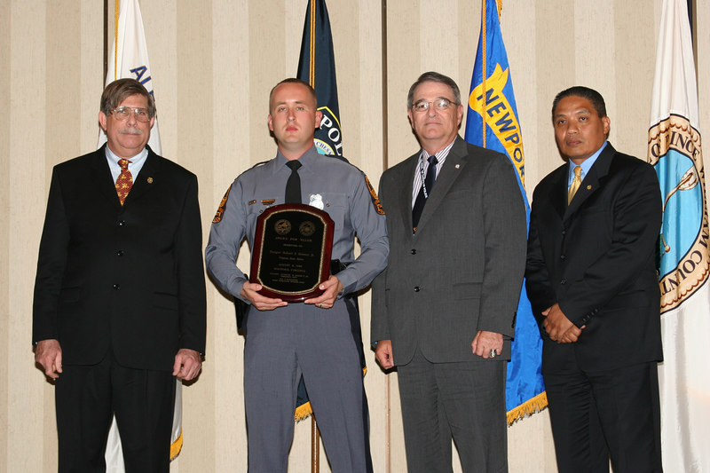 <b>IMG_43378</b><br>2006 Valor Award Recipient: Trooper Robert S. Bowers, Jr., Virginia State Police