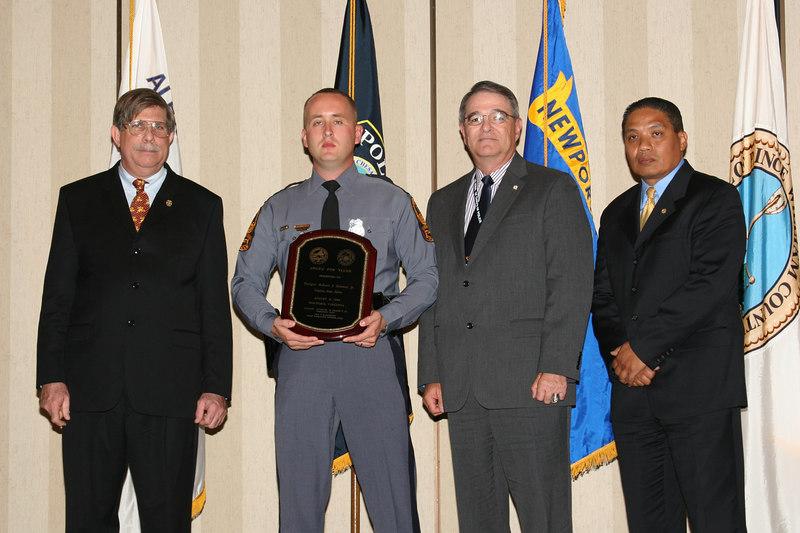 <b>IMG_43378</b><br>2006 Valor Award Recipient: Trooper Robert S. Bowers, Jr., Virginia State Police