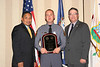 <b>IMG_43442</b><br>2006 Valor Award Recipient Trooper Robert S. Bowers, Jr., Virginia State Police with Secretary Marshall and Colonel Steve Flaherty, Superintendent, Virginia State Police