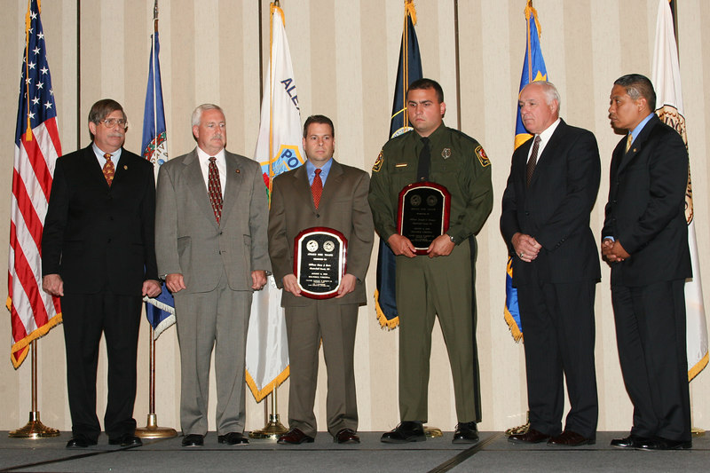 <b>IMG_43360</b><br>2006 Valor Award Recipients:  Officer Gary J. Buro (Honored Posthumously) and Officer Joseph G. Diman, Chesterfield County Police Department