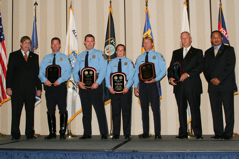 <b>IMG_43369</b><br>2006 Valor Award Recipients: Officer Steven L. Bennett, Officer Ronald Knapczyk, Officer Bryan Nevitt, Officer Eric Toto, and Officer Heather Younce, Prince William County Police Department