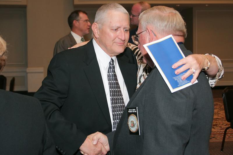 <b>IMG_70465</b><br>Mr. Lex Eckenrode, 2007 VACP President's Award recipient, with Chief (Ret) Jack Asbury