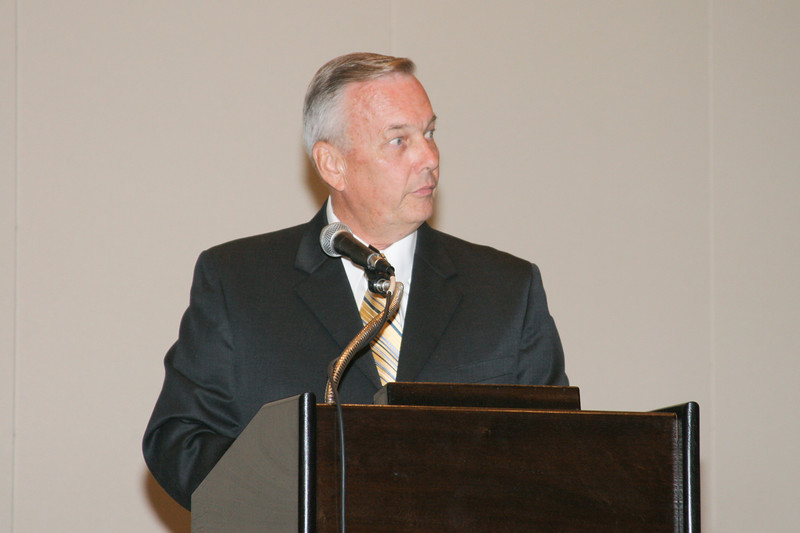 <b>IMG_70391</b><br>Chief Charlie Deane (Prince William County), chairman of the VACP Nominating Committee, conducts the election and installation of the 2007-08 VACP Executive Board