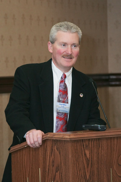 <b>IMG_55013</b><br>VACP President Mike Yost (Williamsburg) addresses the membership.
