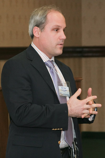 "<b>IMG_55016</b><br>Paul Colangelo from LexisNexis spoke on ""Transforming Data into Mission Critical Decisions."""