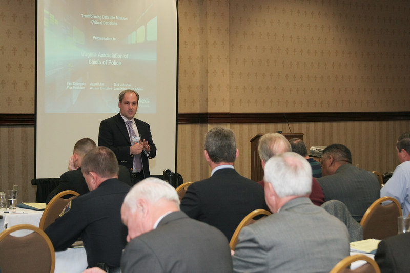 """<b>IMG_55018</b><br>Paul Colangelo from LexisNexis spoke on """"Transforming Data into Mission Critical Decisions."""""""